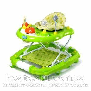 Ходунки Baby Tilly 683R-1 BLUE, GREEN, PINK (3 цвета)