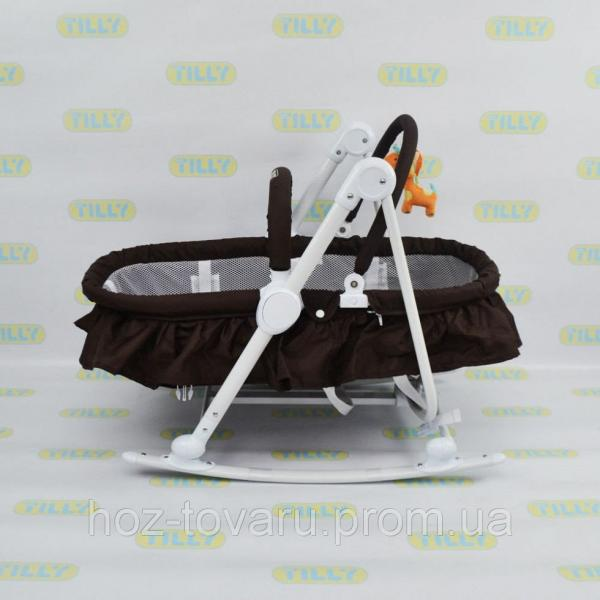 Шезлонг-люлька TILLY BT-BB-0003 (3 цвета)