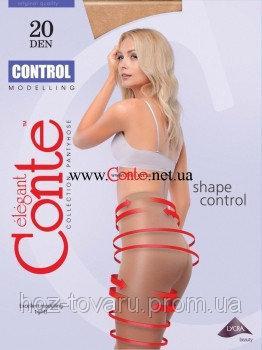 Колготки жен. CONTROL  20 ден( размер 2,3,4)