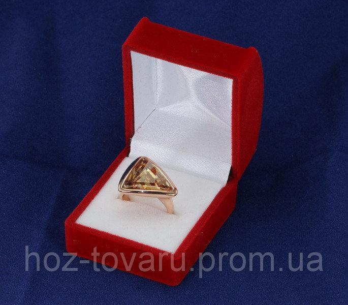 Бархатная подарочная коробочка (900280) Красные