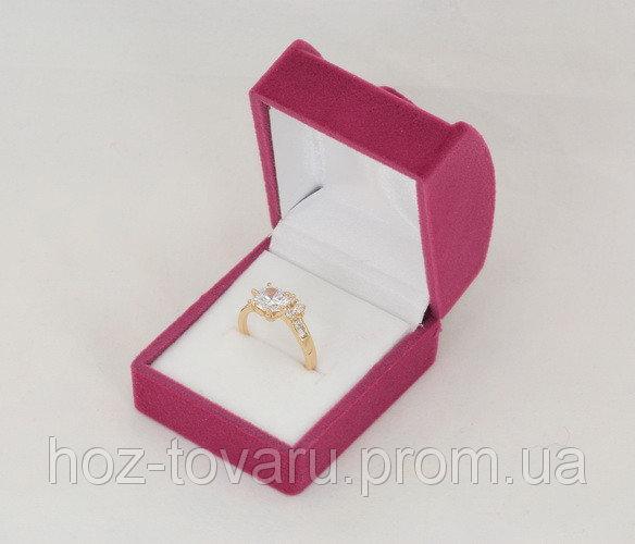 Бархатная подарочная коробочка (900280) Фуксия