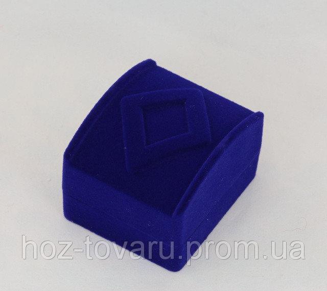 Бархатная подарочная коробочка (900280) Синие