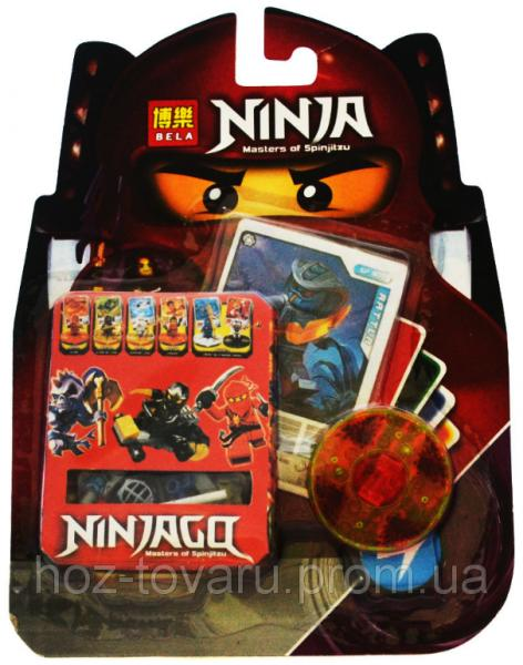 "Конструктор Лего ""Ниндзяго"". Bela Ninja Masters of Spinjitzu: Rattla (062118-1)"