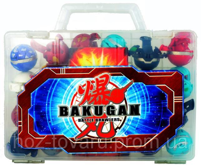 Набор из 18 бакуганов в пластиковом чемодане (Bkbox-18)