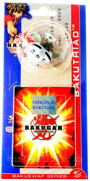 Bakugan Gundalian Invaders 3 Сезон (3.2 см): оригинальный бакуган и карта (41001-l)