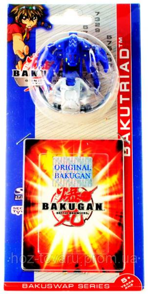 Bakugan Gundalian Invaders 3 Сезон (3.2 см): оригинальный бакуган и карта (41001-p)