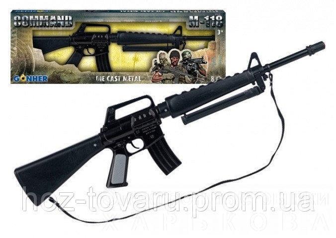 Гвинтівка Комбат М-118, на блістері (1118/6) - Игрушечное оружие на рынке Барабашова