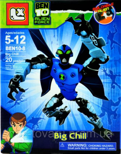 "Лего-фигурка Big Chill ""Ben 10 Alien Force"" (BEN10-8-4)"