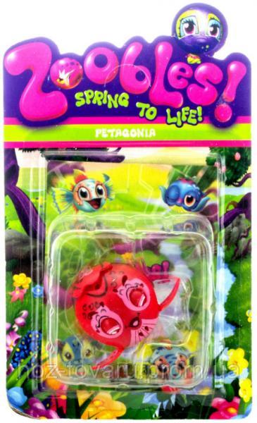 Фигурка Зублс Petagonia 3,5 см. Zoobles Spring to Life (368-2)