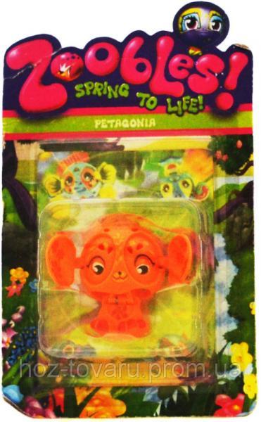 Фигурка Зублс Petagonia 3,5 см. Zoobles Spring to Life (368-3)