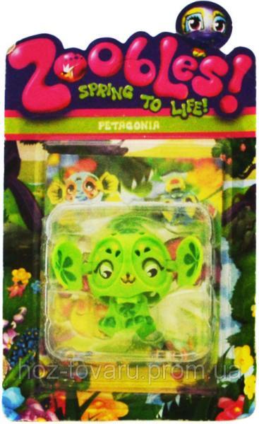 Фигурка Зублс Petagonia 3,5 см. Zoobles Spring to Life (368-4)