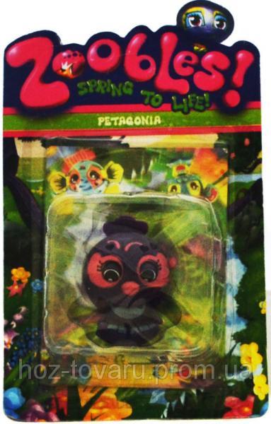 Фигурка Зублс Petagonia 3,5 см. Zoobles Spring to Life (368-5)
