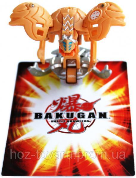 Bakugan Mechtanium Surge 4 Сезон (3.2 см): оригинальный бакуган и карта (41001-3)