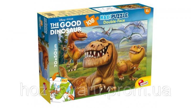 Пазл двухсторонний Хороший динозавр (52837) lisciani