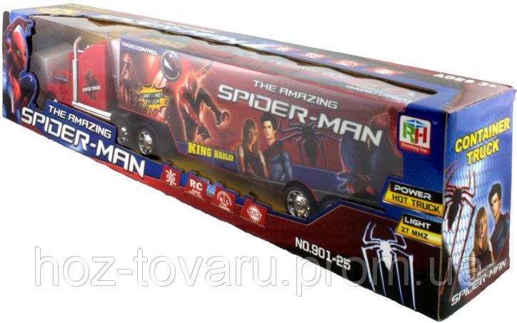 """Фура """"Amazing Spider-Man"""" на р/y со световыми эффектами (901-25)"""