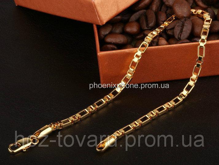 Изящный браслет, покрытый золотом (70207)