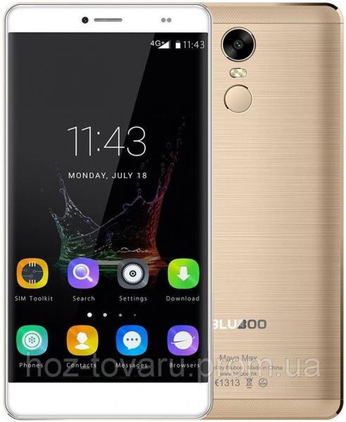 """Bluboo Maya MAX gold  3/32 Gb, 6"""", MT6750, 3G, 4G"""