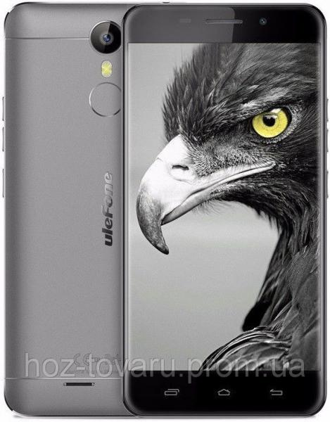 "UleFone Metal gray  3/16 Gb, 5"", MT6753, 3G, 4G"