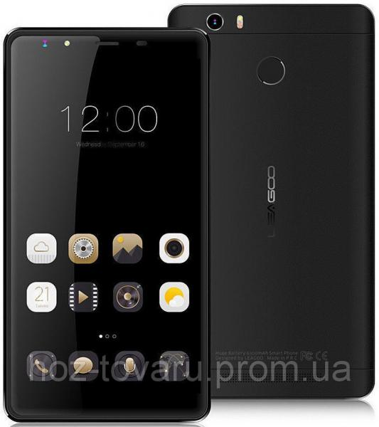 "Leagoo Shark 1 black 3/16 Gb, 6"",  MT6753, 3G, 4G"