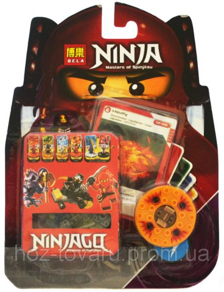 "Конструктор Лего ""Ниндзяго"". Bela Ninja Masters of Spinjitzu: Liquify. (062118-2)"