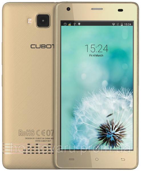 "Cubot Echo gold 2/16 Gb, 5"", MT6580, 3G"