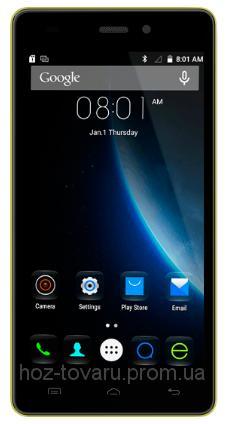 """Doogee X5 Yellow 1/8 Gb, 5"""", MT6580, 3G"""