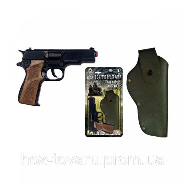 Пистолет Command с кобурой (1125/6) Gonher