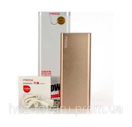 Power Bank REMAX Vanguard RP-V12 12000mah (Оригинал)
