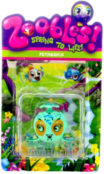 Фигурка Зублс Petagonia 3,5 см. Zoobles Spring to Life (368)