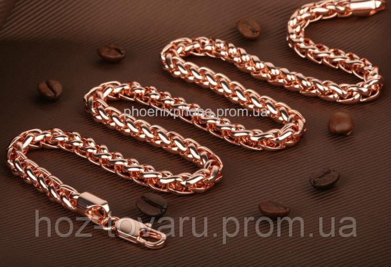 Шикарная цепь, покрытая золотом (40080)
