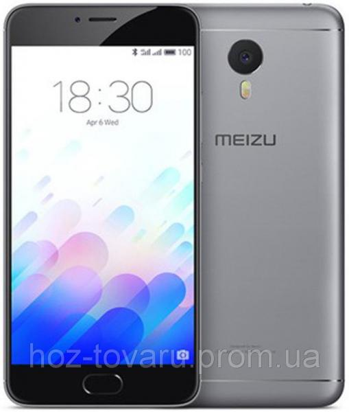 "Meizu М3 Note Grey 2/16 Gb, 5.5"", 3G, 4G"
