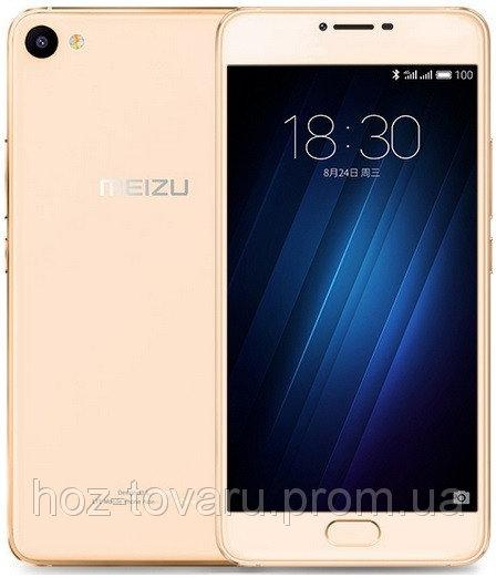 "Meizu U10 Gold 2/16 Gb, 5"", MT6750, 3G, 4G"