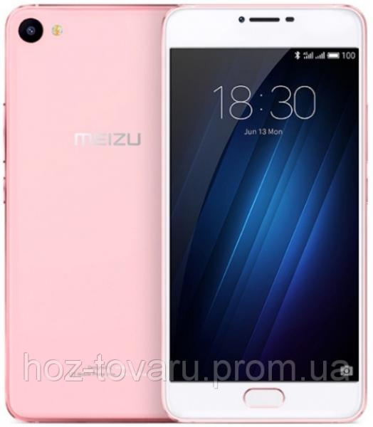 "Meizu U10 Rose gold 3/32 Gb, 5"", MT6750, 3G, 4G"