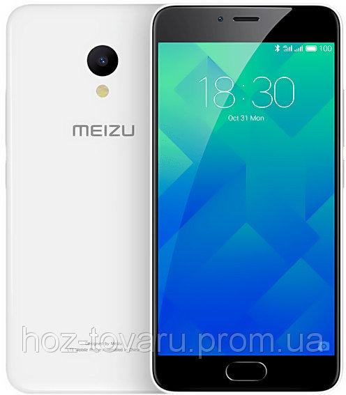 "Meizu M5  White  3/32 Gb, 5.2"", MT6750, 3G, 4G"