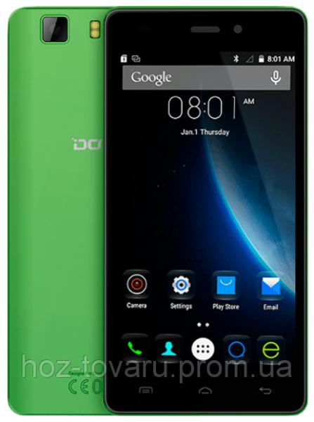 "Doogee X5  Green 1/8 Gb, 5"", MT6580, 3G"