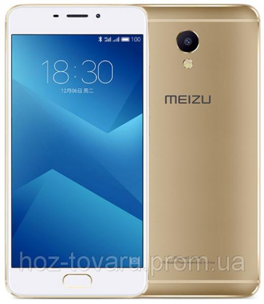"Meizu M5 Note Gold 3/16 Gb, 5.5"", MT6755, 3G, 4G"