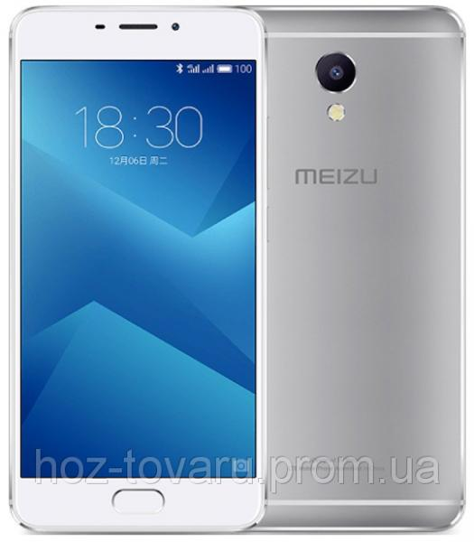 "Meizu M5 Note Silver 3/32 Gb, 5.5"", MT6755, 3G, 4G"