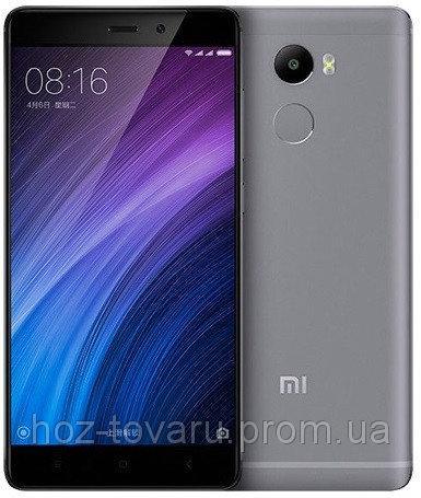 "Xiaomi Redmi 4 gray 3/32 Gb, 5"", Snapdragon 430, 3G, 4G"