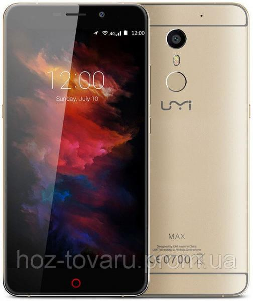 "UMI Max gold  3/16 Gb, 5.5"", MT6755, 3G, 4G"