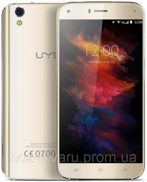 "UMI Diamond X gold  2/16 Gb, 5"", MT6737, 3G, 4G"