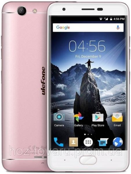 "UleFone U008 Pro rose gold  2/16 Gb, 5"", MT6737, 3G, 4G"