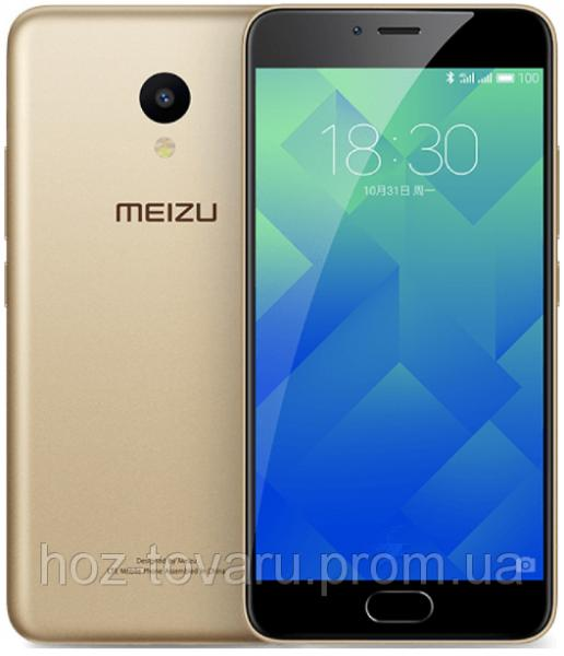 "Meizu M5  Gold  2/16 Gb, 5.2"", MT6750, 3G, 4G"