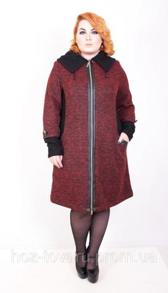 Пальто женское большого размера Луиза (2 цвета), женское пальто большого размера