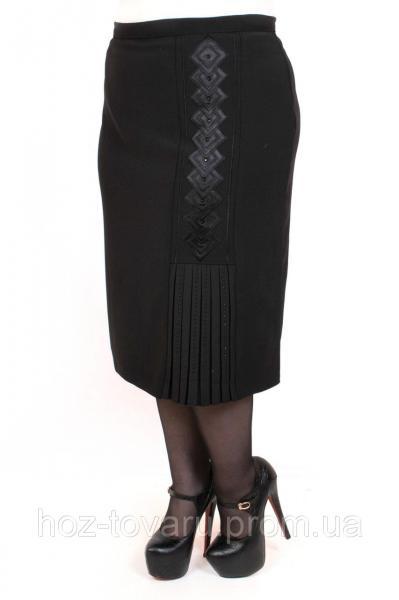 Юбка большого размера Вышиванка Коса, юбки для полных