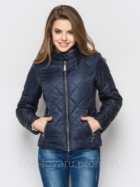 Куртка женская демисезонная №33 ромб (5 цветов), короткая демисезонная куртка, дропшиппинг