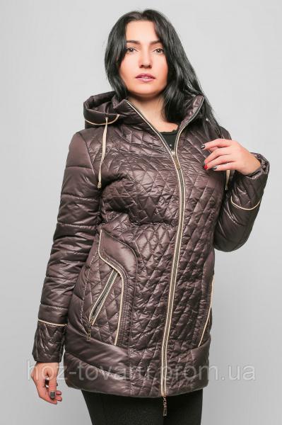 Куртка большого размера женская демисезонная №12