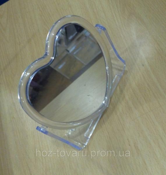 Зеркало настольное Сердце
