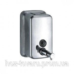Дозатор для жидкого мыла из нержавеющей стали, 500 мл