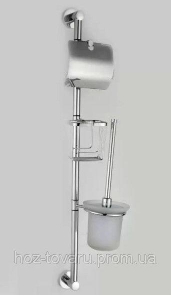 Настенный комплект для туалета на три предмета