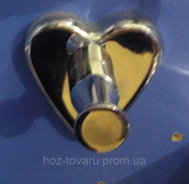 Крючек одинарный сердце